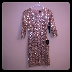 Lulu's sequin bodycon mini dress